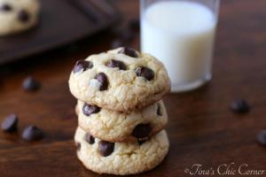 07Cake Mix Dark Chocolate Chip Cookies