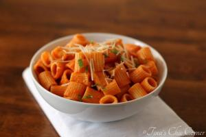06Roasted Red Pepper Pasta