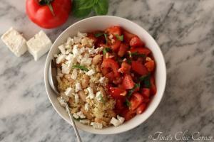02White Beans Couscous Tomato Salad