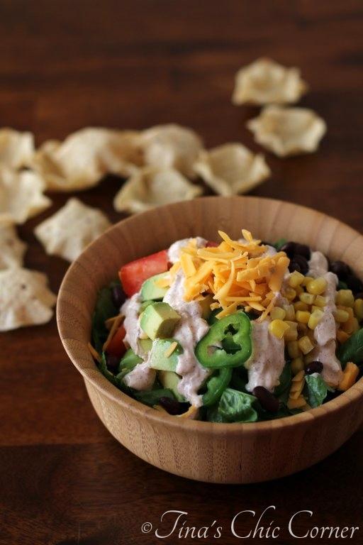 03Vegetarian Taco Salad