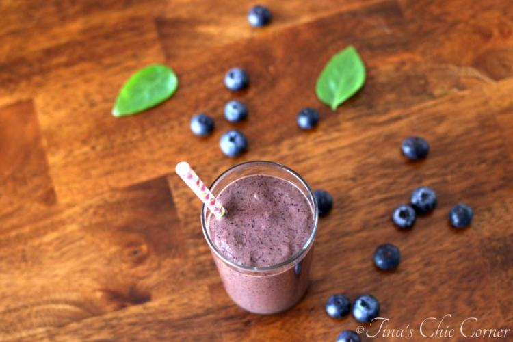 02Blueberry Basil Smoothie