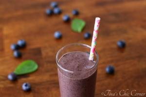 03Blueberry Basil Smoothie