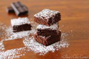 07Light Fudgy Brownies