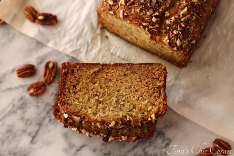 10Light Banana Bread