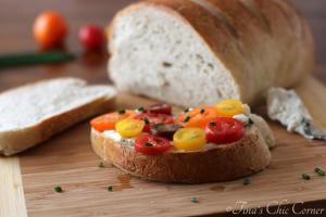 03Tomato Sandwich With Herbed Goat Cheese