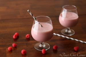 04Raspberry Vanilla Smoothie
