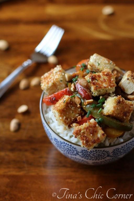 15Sesame Crusted Tofu