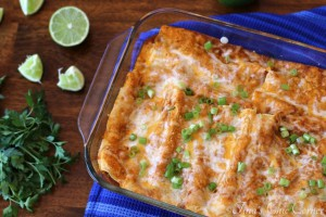 04Black Bean and Cheese Enchiladas