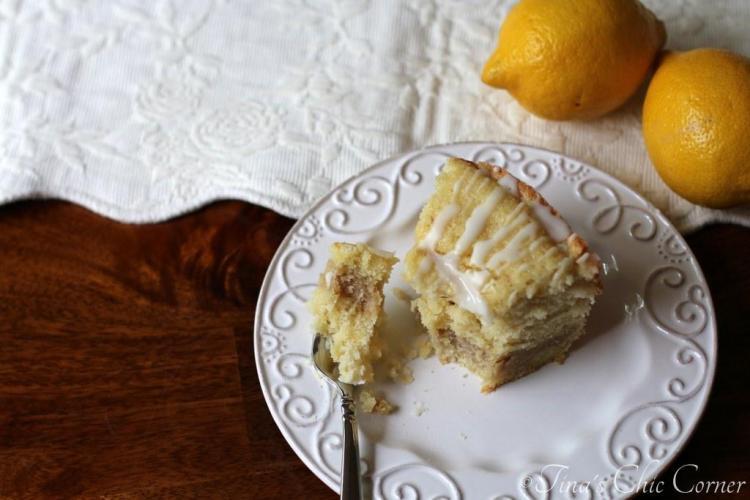 15Lemon Crumb Cake