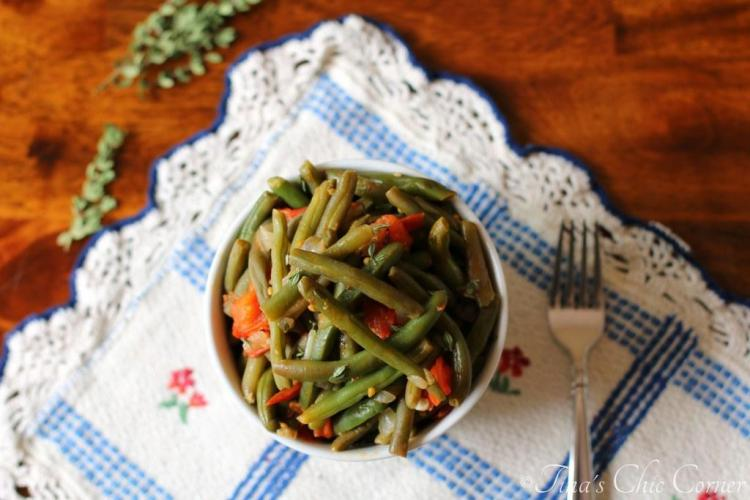 04Green Beans With Tomatoes