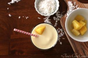 Pineapple Coconut Smoothie04