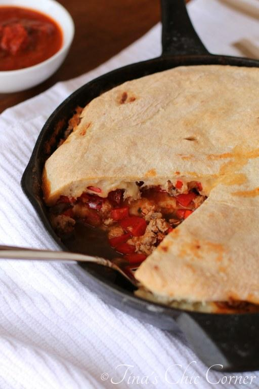 Skillet Calzone07