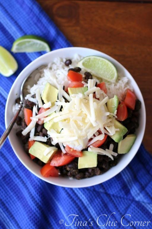 Black Bean Burrito Bowl02