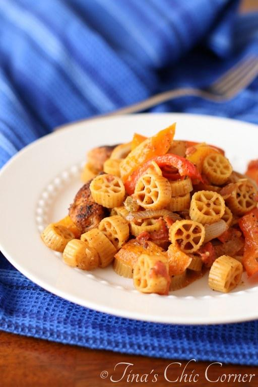 Chicken Fajita Pasta07
