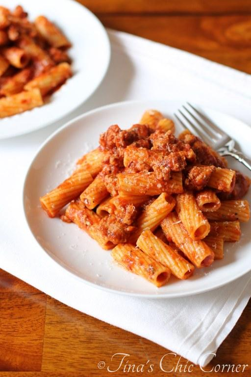 Spicy Sausage and Pasta07