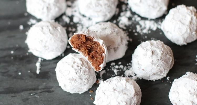 Double Chocolate Snowball Cookies Tina S Chic Corner