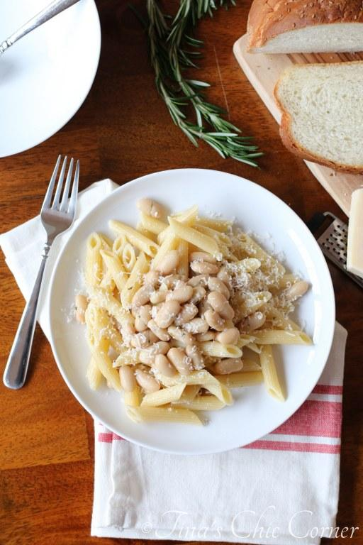 Beans and Rosemary Pasta04