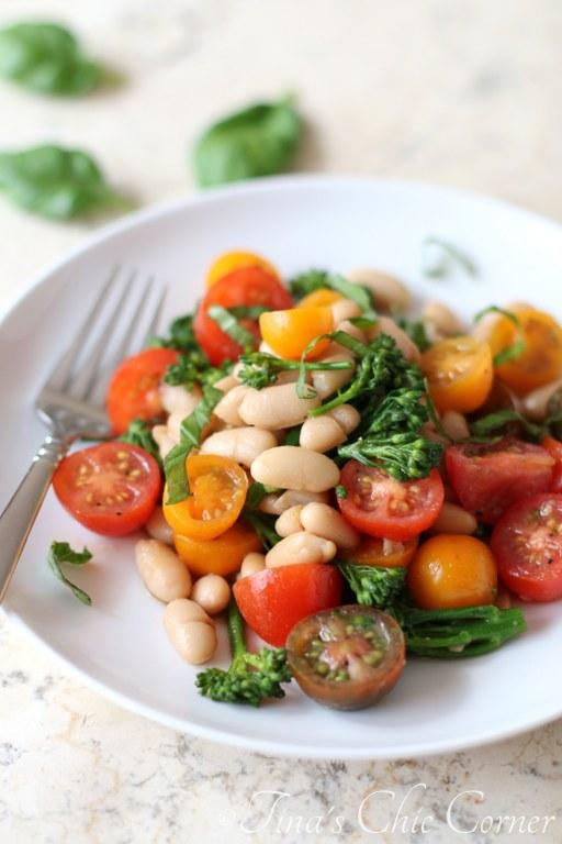 Tomatoes, White Beans and Broccolini03