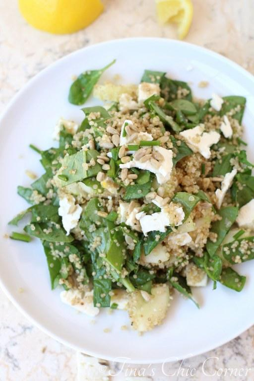 Cucumber Quinoa Spinach Salad06
