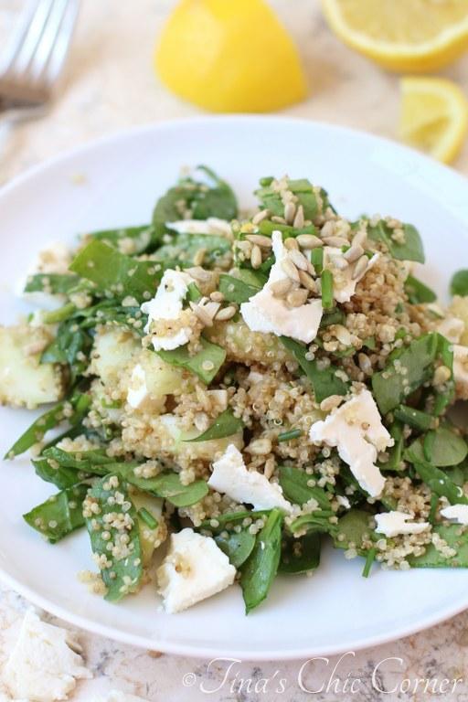 Cucumber Quinoa Spinach Salad07