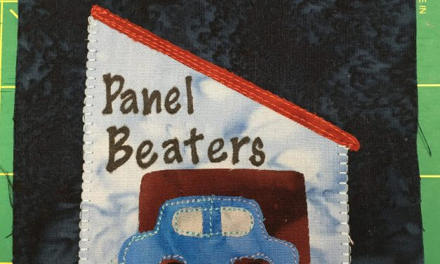 Block-A-Day 14 – Panel Beater