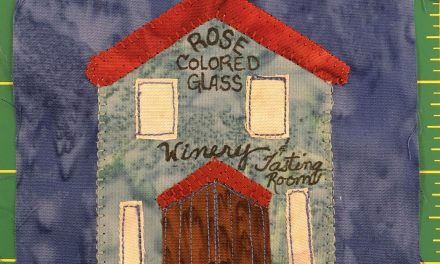 Block-A-Day 46 – Rose Colored Glass