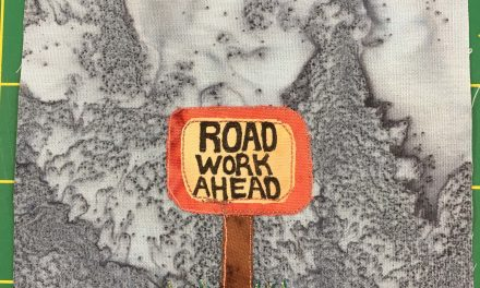 Block-A-Day 82 – Road Work Ahead