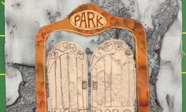 Block-A-Day 102 – The Park Gates