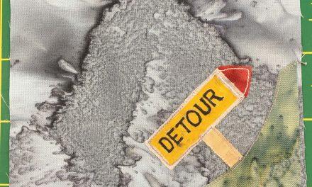 Block-A-Day 110 – Detour!