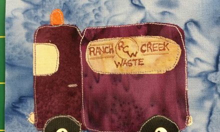 Block-A-Day 141 – Ranch Creek Waste