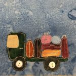 Block-A-Day 160 – The Baggage Truck