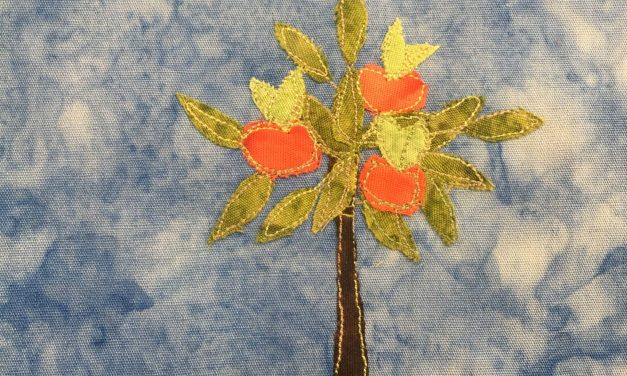 Block-A-Day 199 – The Apple Tree