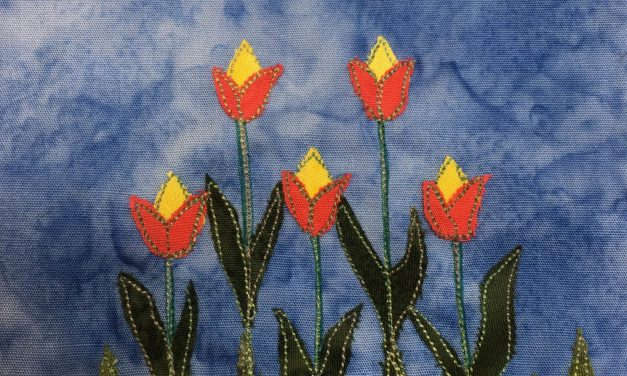 Block-A-Day 200 – The Tulips