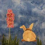 Block-A-Day 212 – Fluffy And Bonnie Bunny