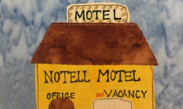 Block-A-Day 262 – The Notell Motel