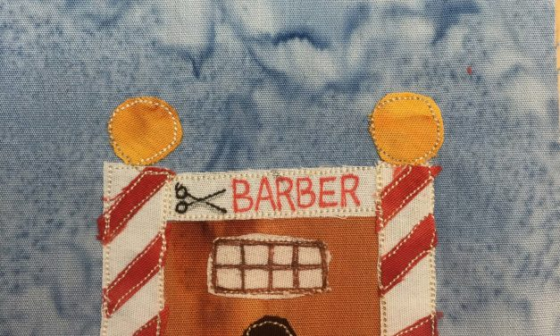 Block-A-Day 277 – The Barber Shop