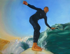 Surfing the waves