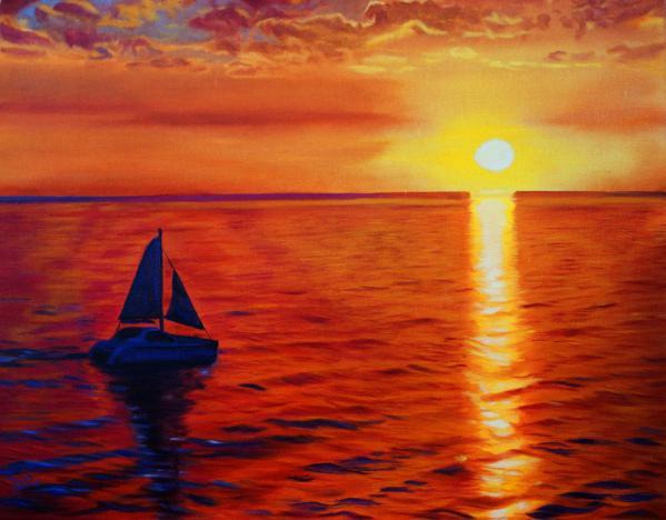 Sunset Sailbloat