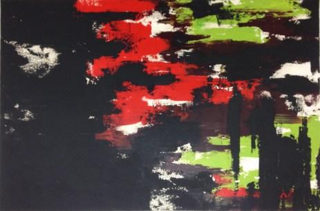 """Instill, a Darkness (36"""" x 24"""", $250)"""