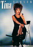 Tina Turner - Private Dancer Tour Book - Cover (1984) 01