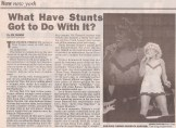 Tina Turner -Concert Review- New York Daily News - USA - 1997