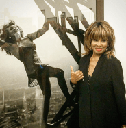 Tina Turner at Peter Lindbergh Exhibition (Rotterdam 2016)