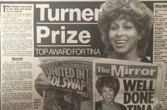 Tina Turner - Newspaper Clippings - 10