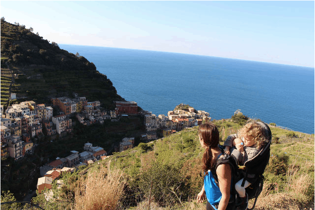 Baby Can Travel in Cinque Terre