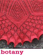 Botany Shawl by Tin Can Knits