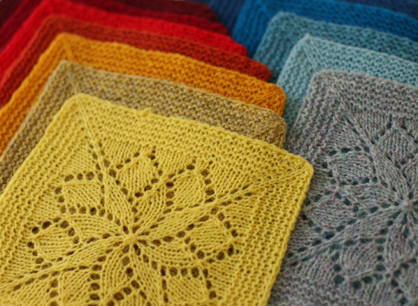 Vivid Blanket Squares