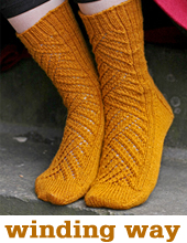 Winding Way Socks