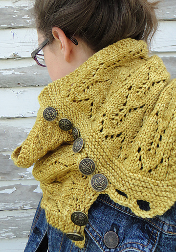 Cap Knitting Patterns : Gothic Lace ::: learn to knit lace with this free pattern Tin Can Knits