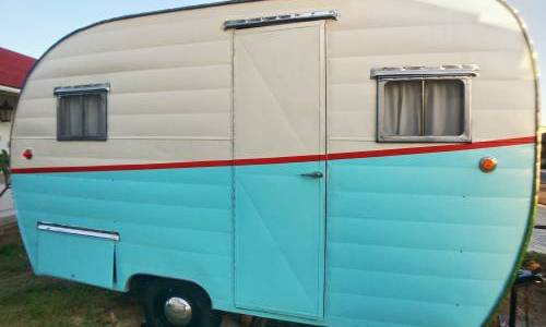For Sale 1954 Ideal Travel Trailer
