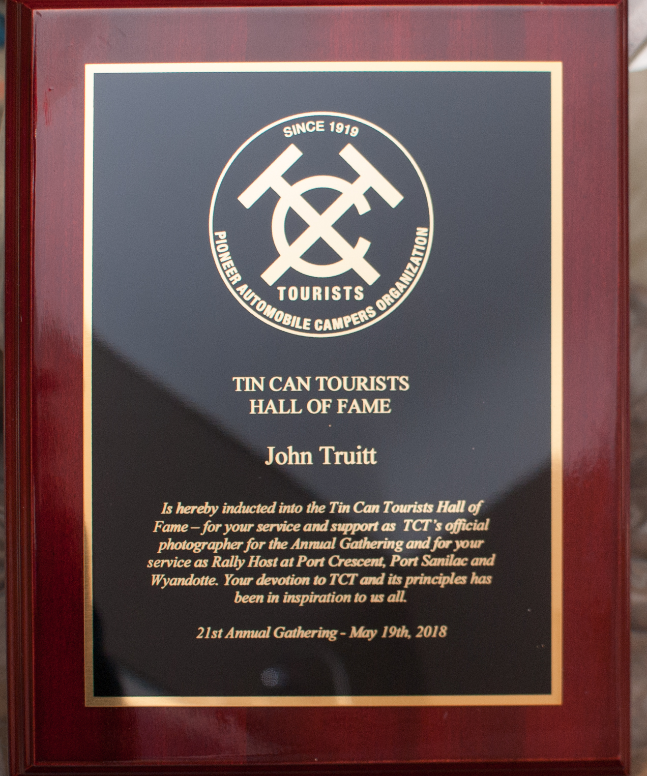 John Truitt Inducted Into The TCT Hall Of Fame